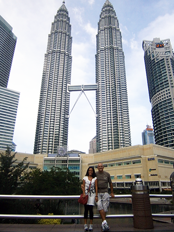 In the Shadow of Petronas' Towers